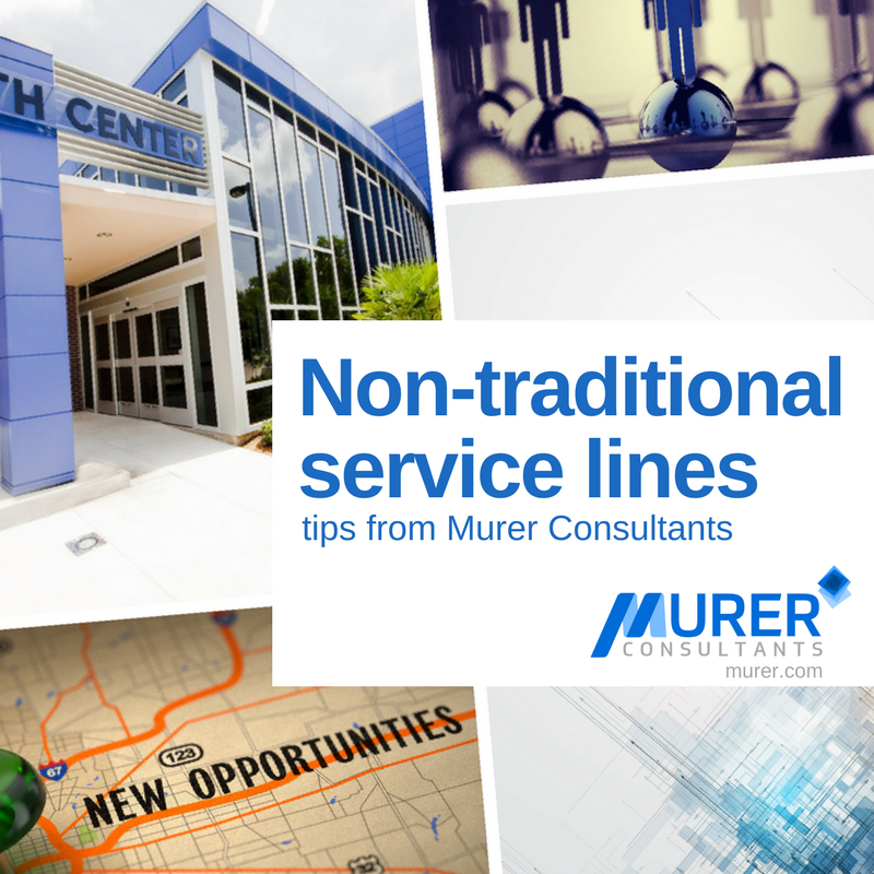NON-TRADITIONAL SERVICE LINES - Murer Expert Advice